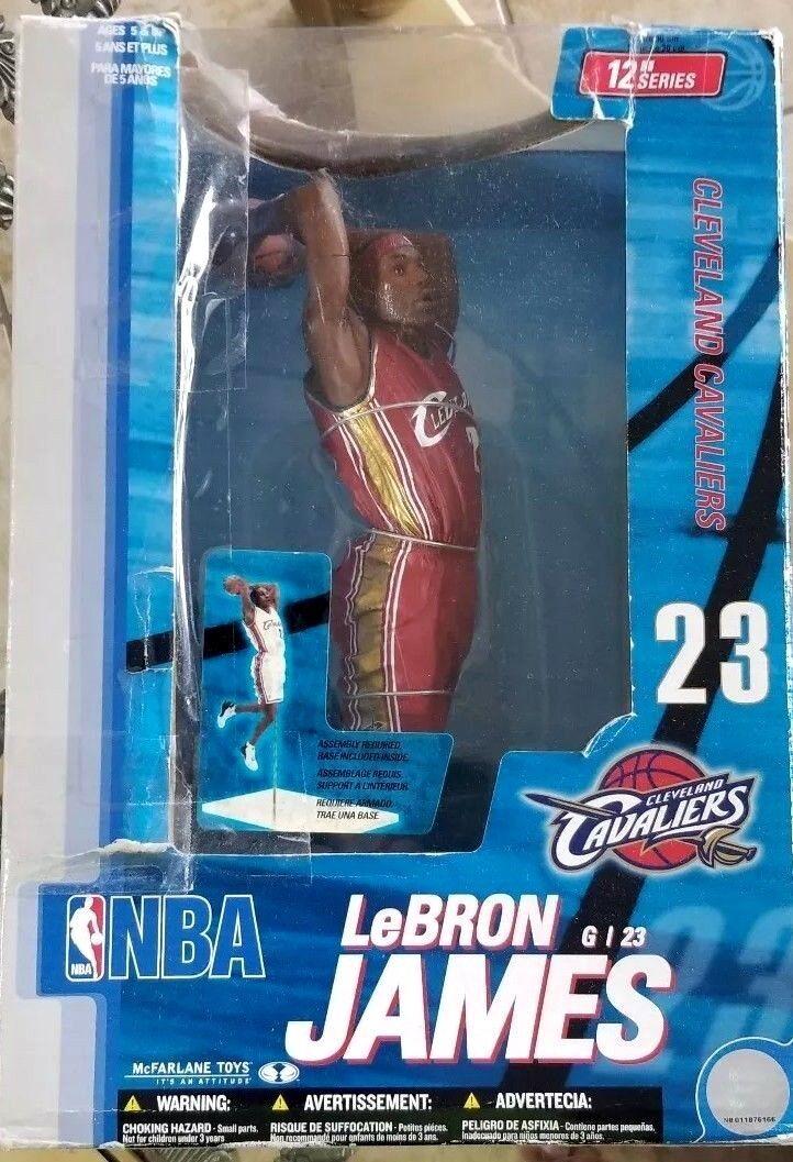 "Cavaliers Cleveland Lebron 12"" Sportpics James Figure Mcfarlane Nba VpGMqSULz"