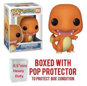 Funko-Pop-Pokemon-CHARMANDER-455-Vinyl-w-Protector-Case-034-MINT-034-IN-STOCK