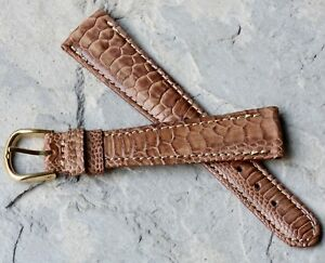 Amazing-pattern-Exotic-Gallo-19mm-vintage-tapered-watch-strap-L-de-Beer-France