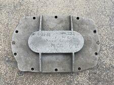 Jim Baileys Blower Supercharger Rear Bearing Plate Gasser Top Fuel Rare