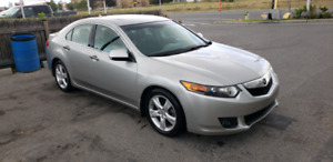 2009 Acura TSX Premium with winter tires
