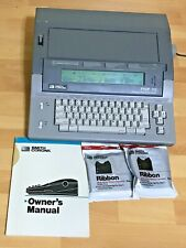 Smith Corona Pwp 90 Personal Word Processor Typewriter Cover Manual Tested