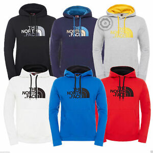 The-North-Face-Mens-Peak-Fleece-Lined-Hooded-Overhead-Pullover-Jumper-Top-Hoodie