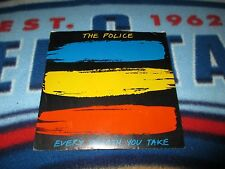 The Police Every Breath You Take 45 Vinyl & CD Lot