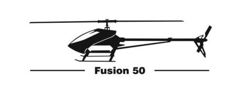 Outrage Fusion 50 Aufkleber
