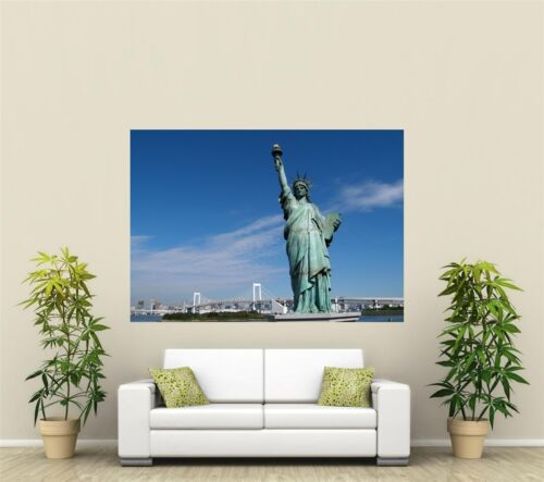 Statue Of Liberty Giant 1 Piece  Wall Art Poster O137