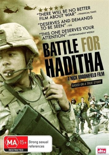 1 of 1 - Battle For Haditha (DVD, 2009) WAR - True Story [Region 4] NEW/SEALED