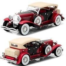 GREENLIGHT 12995 1934 DUESENBERG II SJ RED & BLACK DIECAST MODEL CAR 1:18