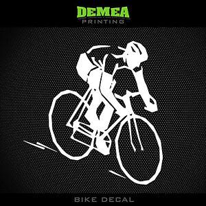 Bike Crit Sticker Decal Car Truck road race tdf cycling criterium cyclist