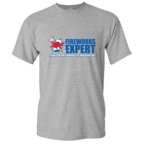 Fireworks Expert  Sarcastic Graphic 4th of July Cool  Funny Novelty T Shirts