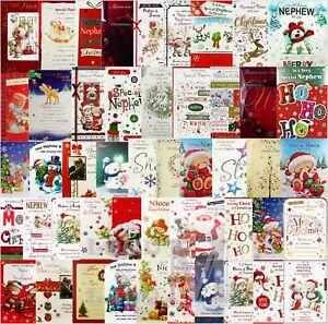 Nephew Christmas card ~ various designs