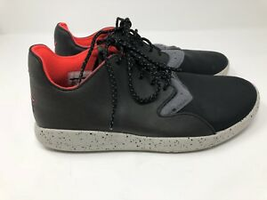 58f845d5d19c Nike Air Jordan Sz 9.5 Mens Eclipse Holiday Black Infrared 23 Grey ...