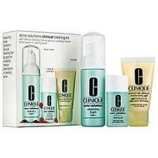 Authentic New Clinique Acne Solutions Clinical Clearing Kit - - Great Value