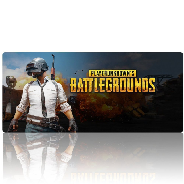 Beyme PUBG Gaming Mouse Pad Extended XXL Large Keyboard Mat for PLAYERUNKNOWN'S