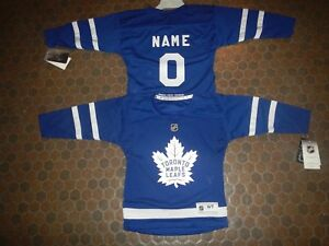 innovative design 3522d 3b543 Toronto Maple Leafs Kids Size 4/7 NHL Hockey Jersey add any ...