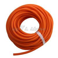 10 Meters Rubber Latex Tube 4.5mm Od 1.7mm Id Elastica Bungee Orange Tubing