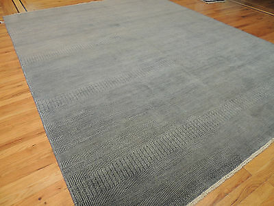 8x10 Gray Savannah Modern Design Oriental Area Rug Neutral