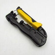 New Listingklein Tools Vdv211 063 Compression Crimper Wire Crimper And Coaxial Crimper