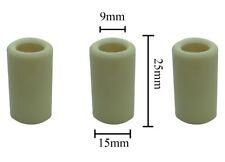 3 Pack 51040009 15x9x25 15mm General Pump Interpump I6 Replacement Plunger