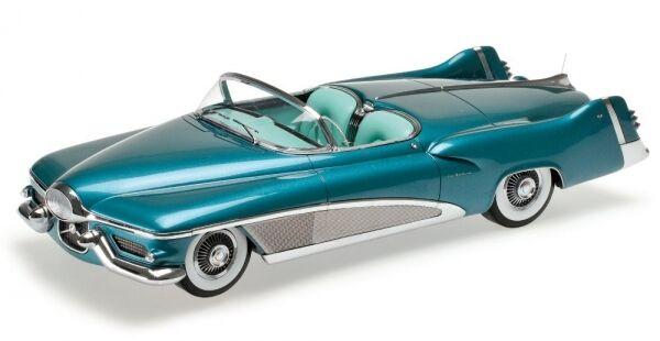 Buick le Sabre Concept auto Turquoise Méttuttiique 1951