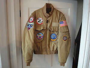 US Military Flight Jacket Summer NEW WEP w/ Patches | eBay