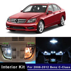 15x-LED-Car-Lights-Interior-Package-Kit-For-2008-2012-Mercedes-Benz-C-Class-W204