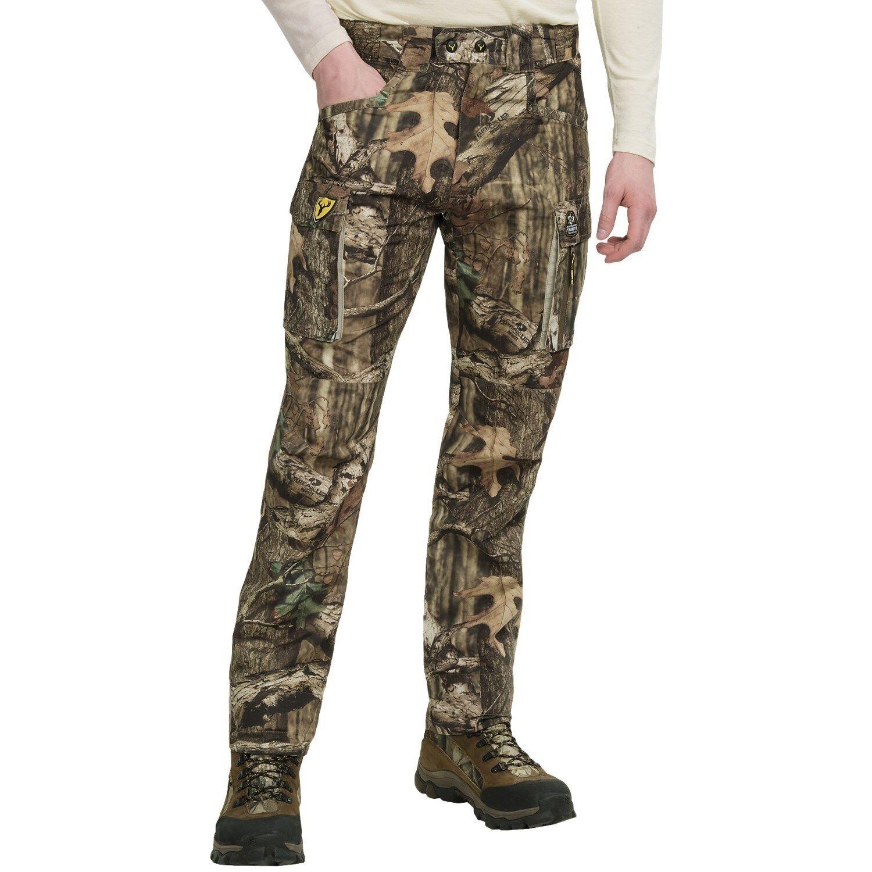 Para Hombre SCENT BLOCKER RECON Lite Trinity Featherlite Pantalones de caza, XXL, 2XL Mossy