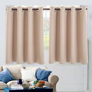 Image Is Loading Uk Modern Short Curtain Flutters Living Room