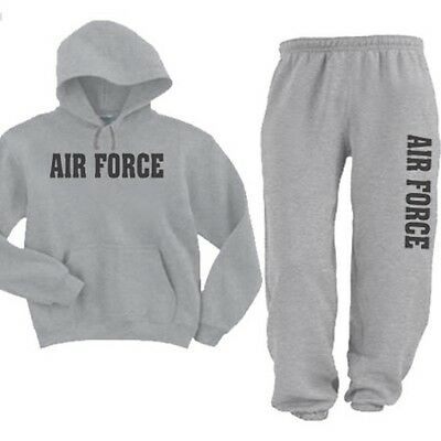 Colors SM Thru 3XL United States AIR FORCE Hoodie Sweatshirt /& Sweatpants Asst