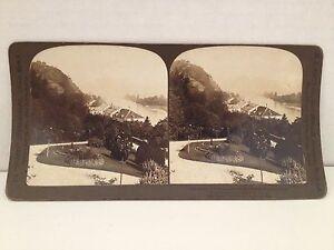 Stereoview-Card-1902-Antique-Photo-Nonnenworth-Drachenfels-Germany-H-C-White