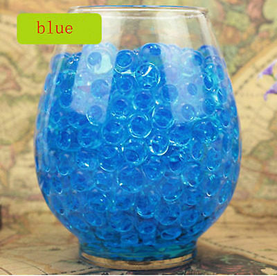 wholesale Water Plant Flower Jelly Crystal Soil Mud Water Pearls Gel Beads Ball