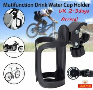 360° Rotation Bike Bicycle Bottle Cage Handlebar Mount Drink Water Cup Holder x1