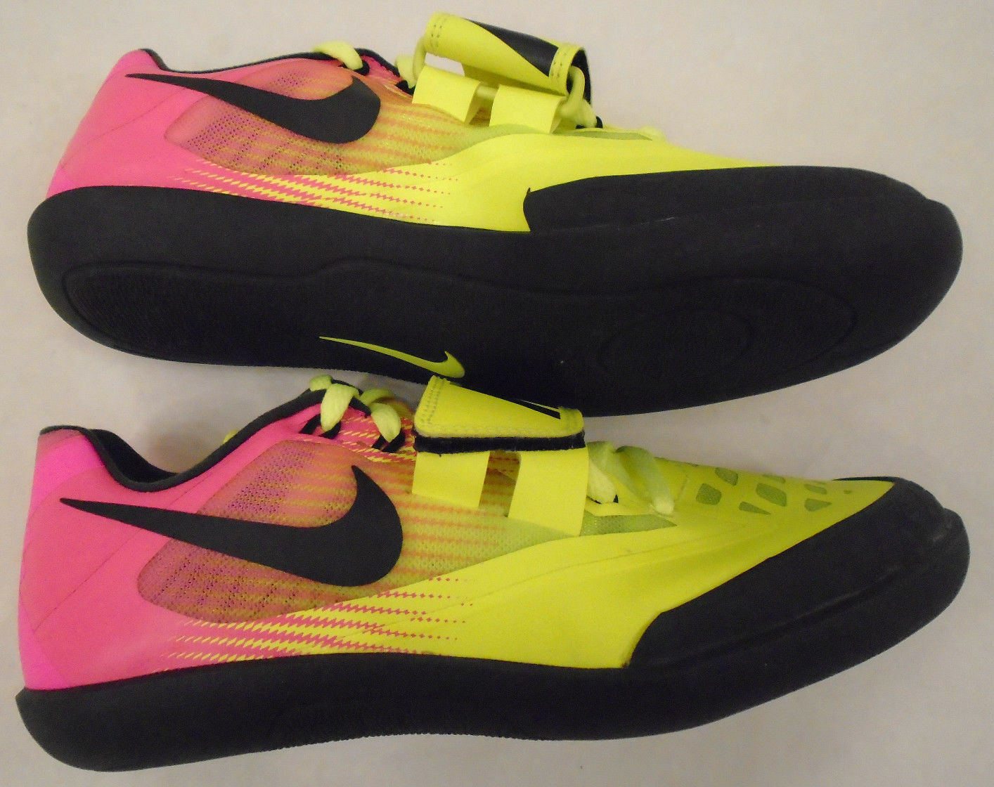 NEW Nike Men's Size 4 Zoom Rival SD 4 OC Shot Discus Shoes Rio Volt  882007-999