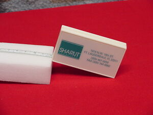 "Vintage 1990's SHARUT Furniture Fl. Advertising Tape Measure 72"" by Barlow"