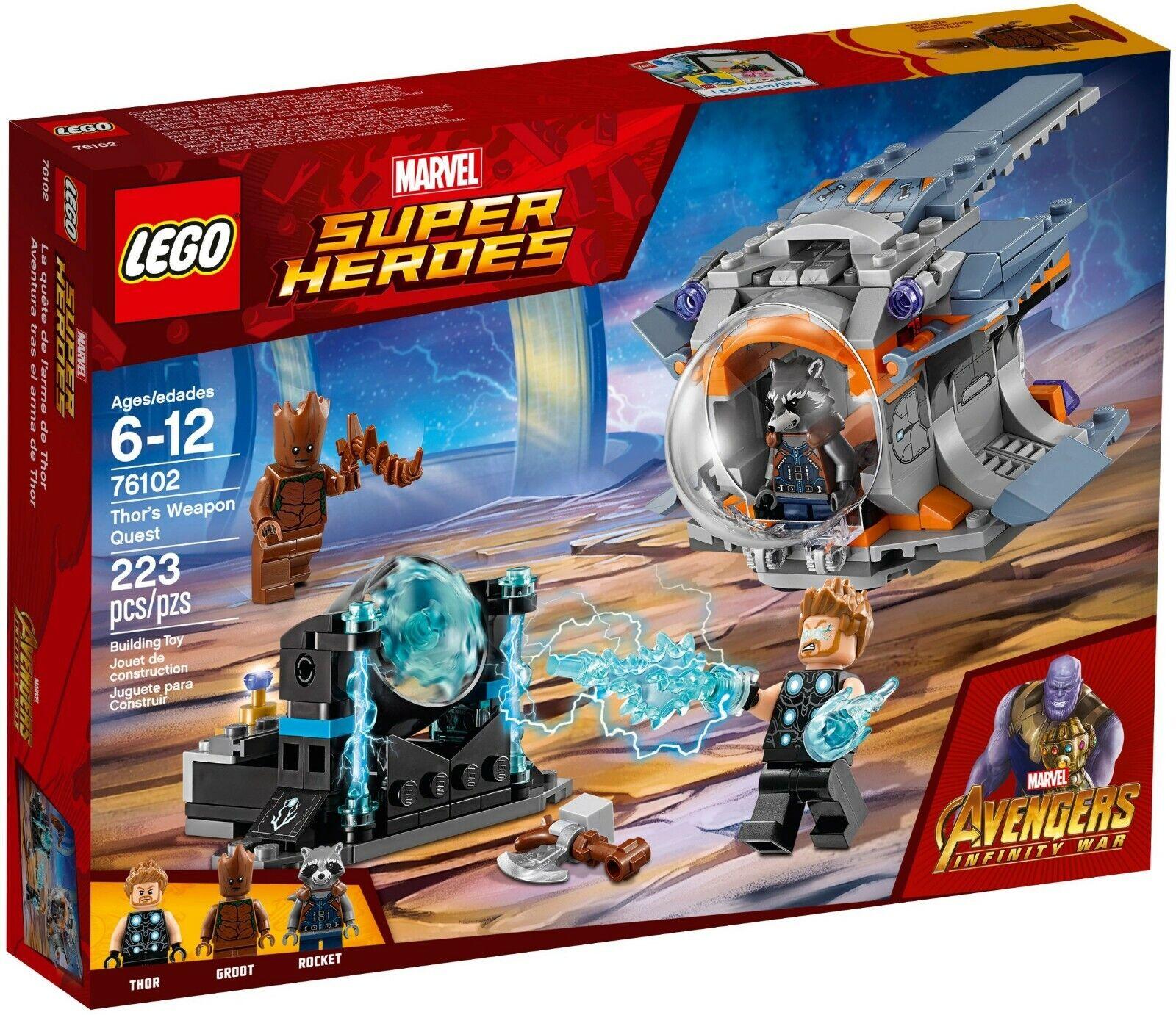 Lego Groot sh501 New Marvel Super Heroes 76102 set 76102 Mint Avenger