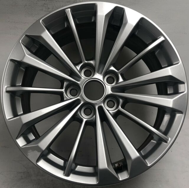 """18"""" Cadillac Ct6 HYPER Silver Wheel Rim Factory Original"""