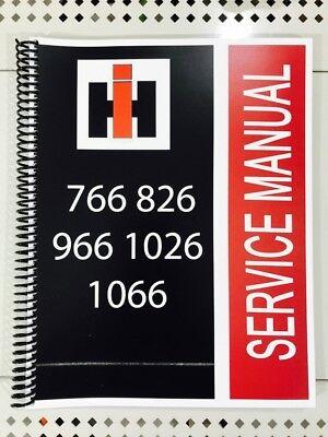 826 International Technical Service Shop Repair Manual Gas and Diesel