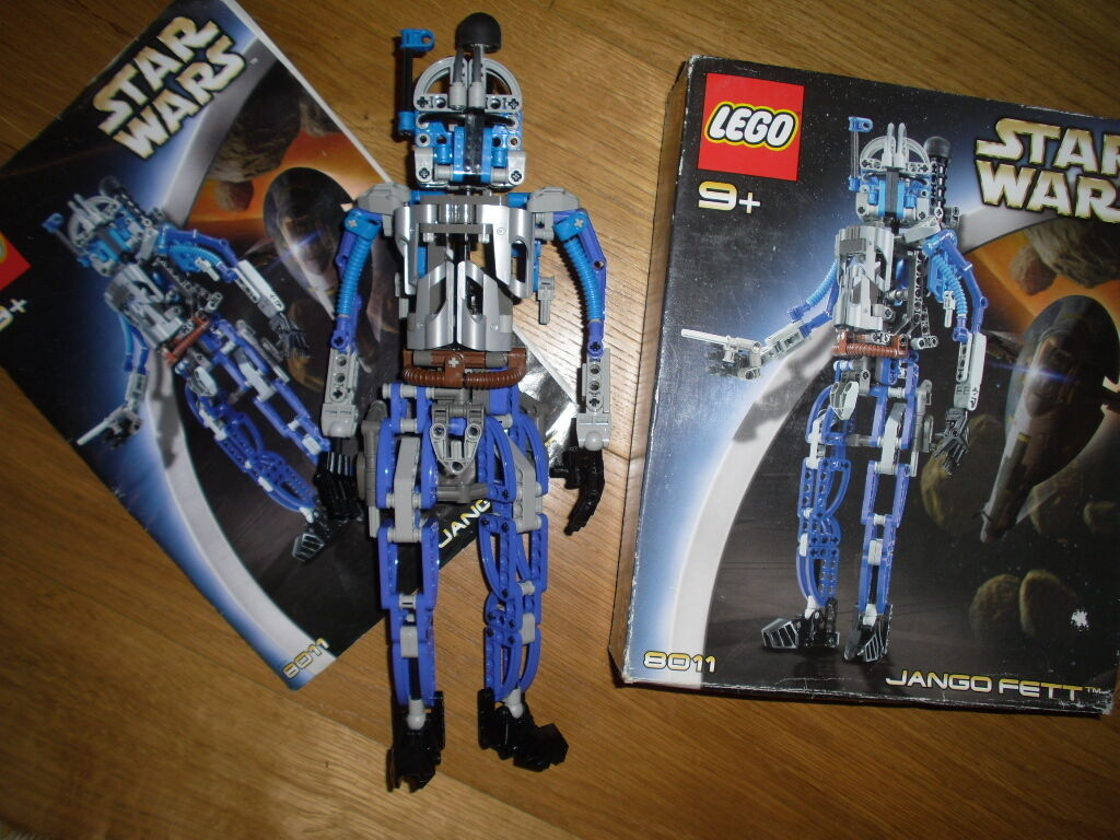 Star wars technic LEGO 8011 complet avec boîte et manuel, Jango Fett Droid