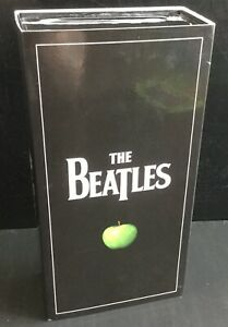 The-Beatles-Stereo-Box-CD-Collection-Singles-EP-Dvd-2009-Rare-OOP-16-CDs-1-DVD