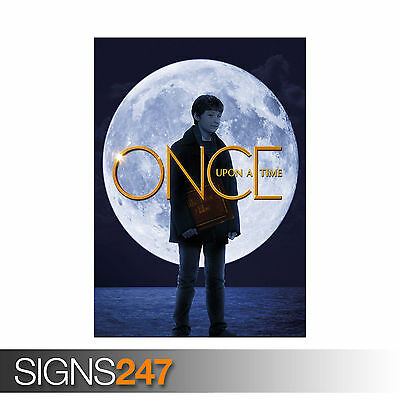 ONCE UPON A TIME HENRY MILLS JARED GILMORE Poster Print Art A1 A2 A3 A4 1235