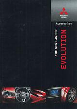 2008 MITSUBISHI LANCER EVOLUTION X ZUBEHÖR ACCESSOIRES PROSPEKT NIEDERLÄNDISCH