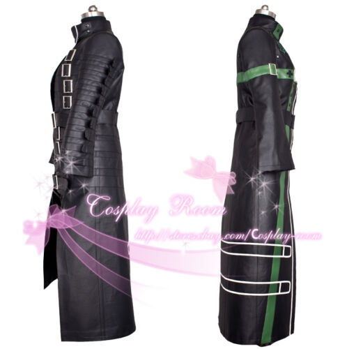 Leather or Uniform cloth fabric in Any size Amnesia Kent Anime Cosplay Costume