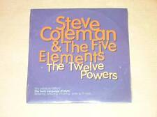 CD PROMO / STEVE COLEMAN & THE FIVE ELEMENTS / THE TWELVE POWERS  / NEUF CELLO