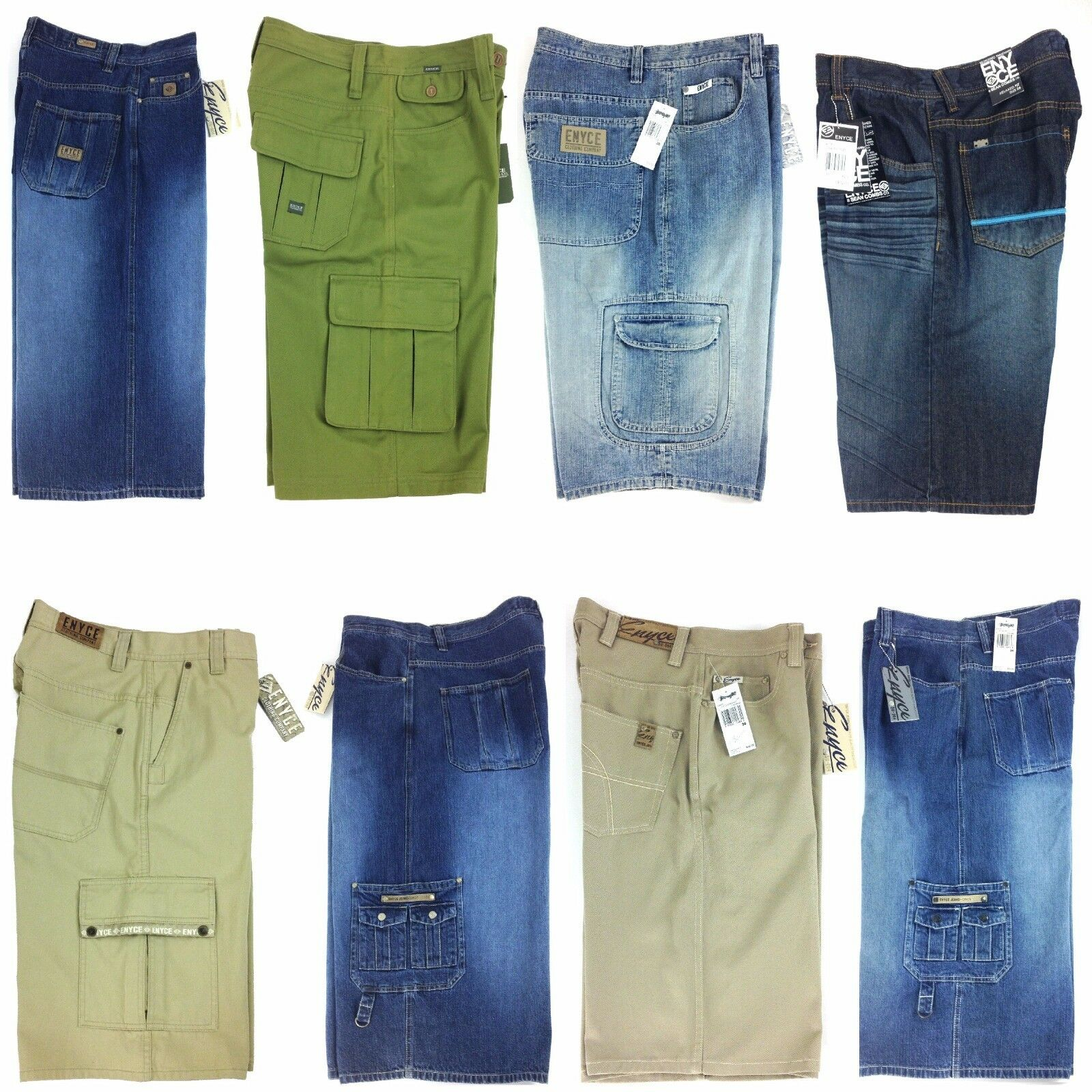 ENYCE, DENIM MEN'S SHORT, GROUP-4, ASSORTED STYLES, LIMITED COLOR & SIZES,