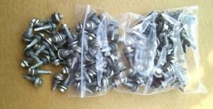 Details About 100 Metal Roofing Siding Screws No Paint Silver 7 8 Lot 106
