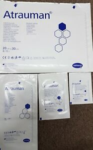 Atrauman Impregnated Dressings 4 Sizes Available Please