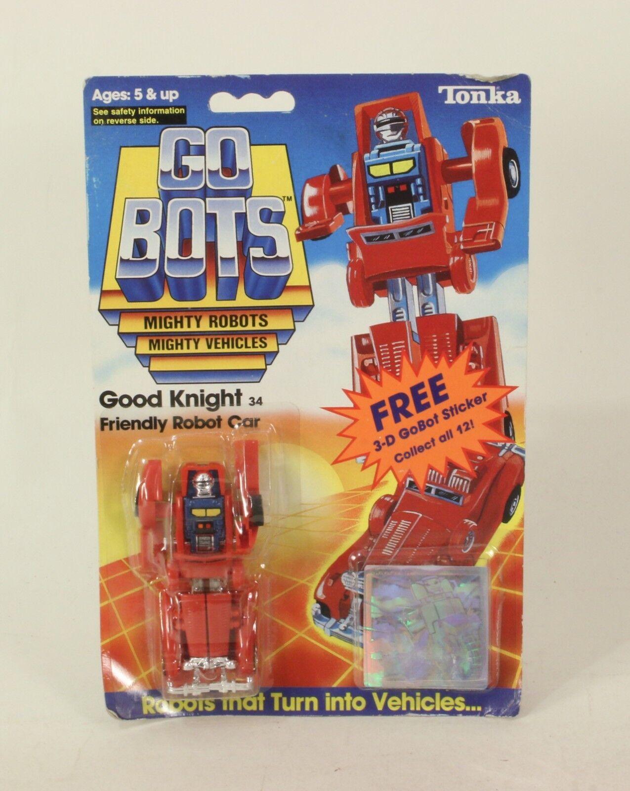 Vintage Bandai   Tonka Go Bots Good Knight Knight Knight  MOC e53c16