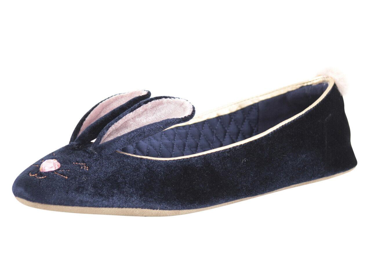 Bellamo Velvet Bunny Slippers