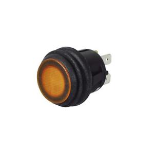 3 altri colori disponibili Durite 0-690-60 Amber PUSH PUSH ON OFF SWITCH LED