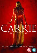 CARRIE DOUBLE PACK DVD - 1976 - AND THE RAGE - NEW / SEALED